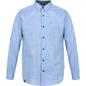 Regatta Banning T-shirt Manches longues Homme, chambray